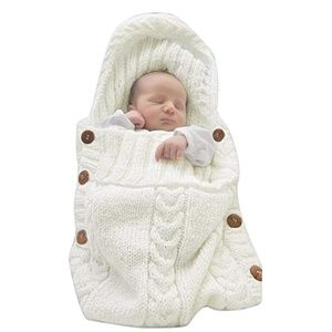 Other - Newborn Baby Wrap Swaddle Blanket Knit